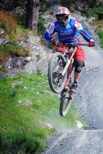 trik na rowerze górskim