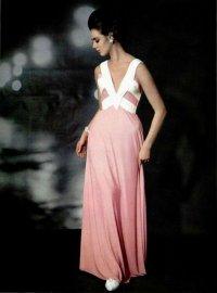 elegancka długa sukienka