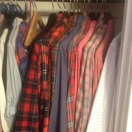 szafa, garderoba, ubrania