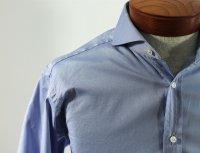 niebieska koszula męska